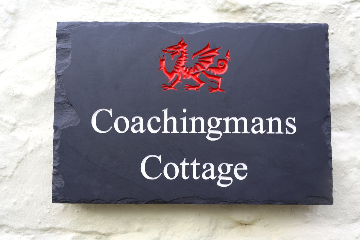 Coachingmans Slate Sign